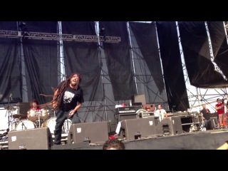 Six Feet Under - Hammer Smashed Face (cover) Hell and Heaven Metal Fest 2013